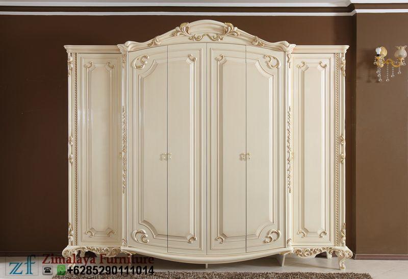 Lemari Pakaian 6 Pintu Klasik