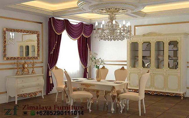 Set Ruang Makan Model Elegan