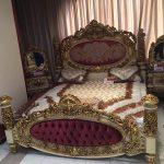 Tempat Tidur Ukiran Mewah