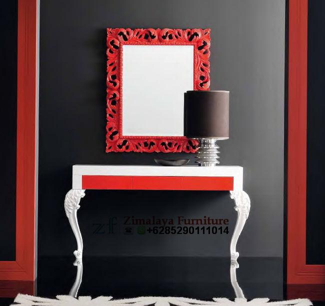 Meja Konsul Warna Merah Putih