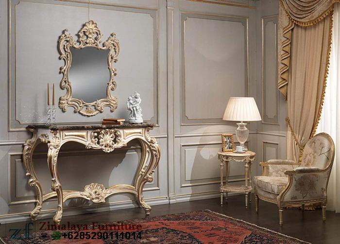 Meja Konsul Model Eropa Klasik