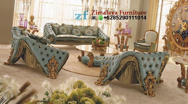 Sofa Tamu Eropa Klasik