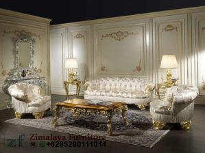 Sofa Tamu Ukir Klasik Mewah
