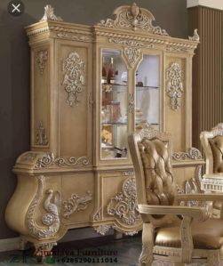 Lemari Hias Ukir Klasik Luxury