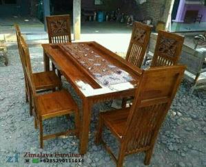 Kursi Makan Minimalis Jati Jepara
