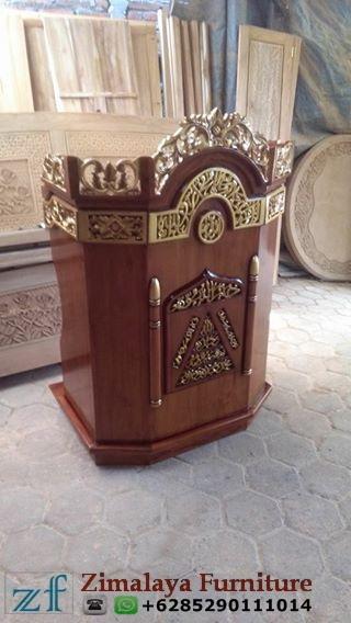 MImbar Masjid, Musholah